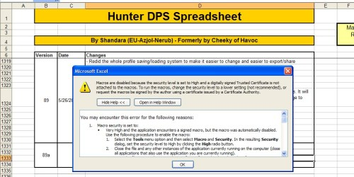 Stoopid default security warnings!