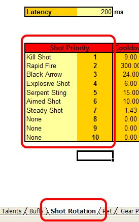 Shot rotation priority!